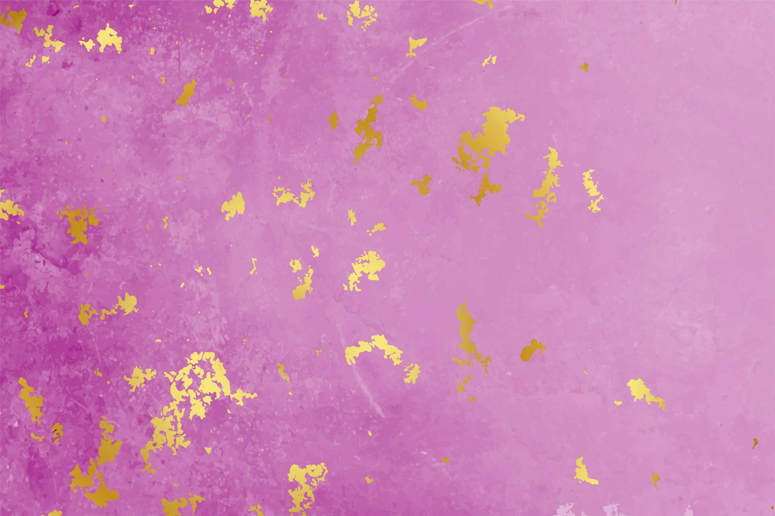 pink texture background with golden foil particles