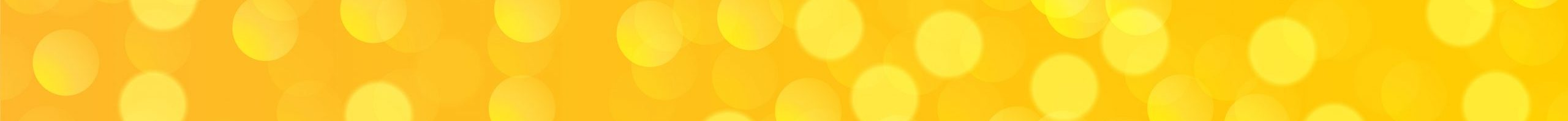 yellow banner with bokeh light effect design